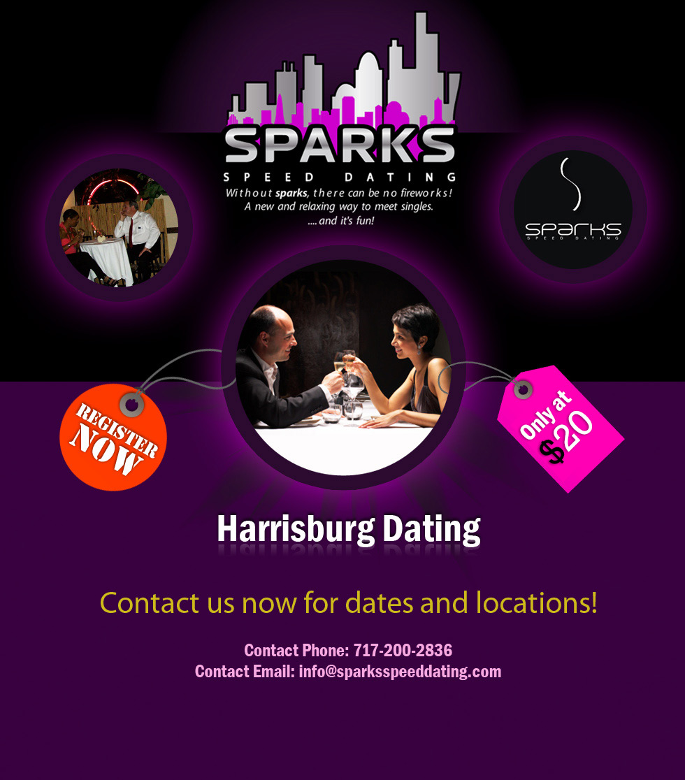 Harrisburg Dating with Spark's Speed Dating